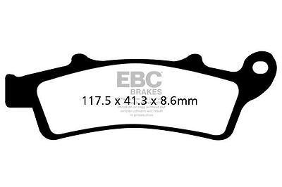 fit APRILIA Scarabeo 250 2006 EBC FRONT ORGANIC BRAKE PADS