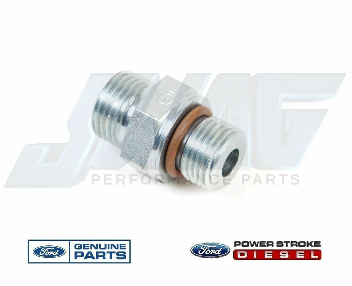 hight resolution of 03 10 ford 6 0 6 0l powerstroke diesel fuel filter m16 fitting for supply return