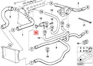 Genuine BMW E34 E36 Cabrio Engine Coolant Thermostat Seal