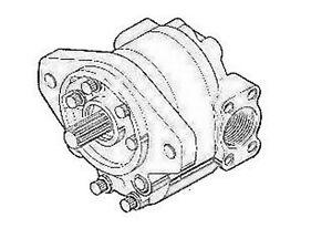 D48950 Case IH Crawler Dozer Hydraulic Pump 310G 450 450B