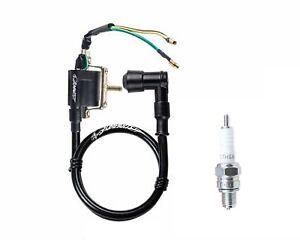 Ignition Coil & Spark Plug KAZUMA ATV Meerkat 50 50cc