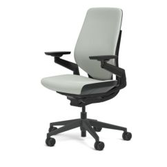 Steelcase Gesture Chair Scan Design Chairs Adjustable Cogent Connect Shell Black Frame New Nickel