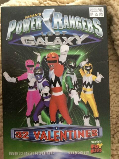 Power Rangers Day : power, rangers, Saban's, Power, Rangers, Valentines, Cards, Lenticular, Bookmarks, Online