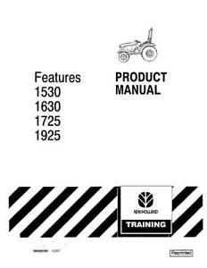 NEW HOLLAND 1530 1630 1725 1925 PRODUCT MANUAL OPERATOR`S