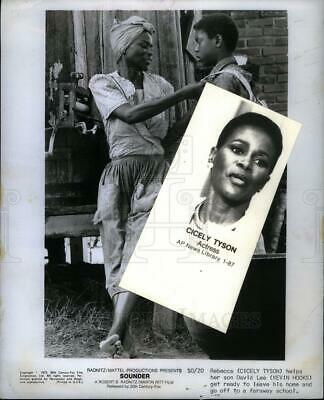 Press Photo Cicely Tyson American actress - DFPD08289 | eBay