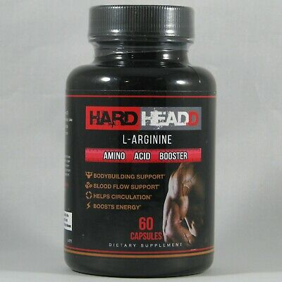 HARD HEADD L-Arginine Extra Strength Amino Acid Booster 60 ...