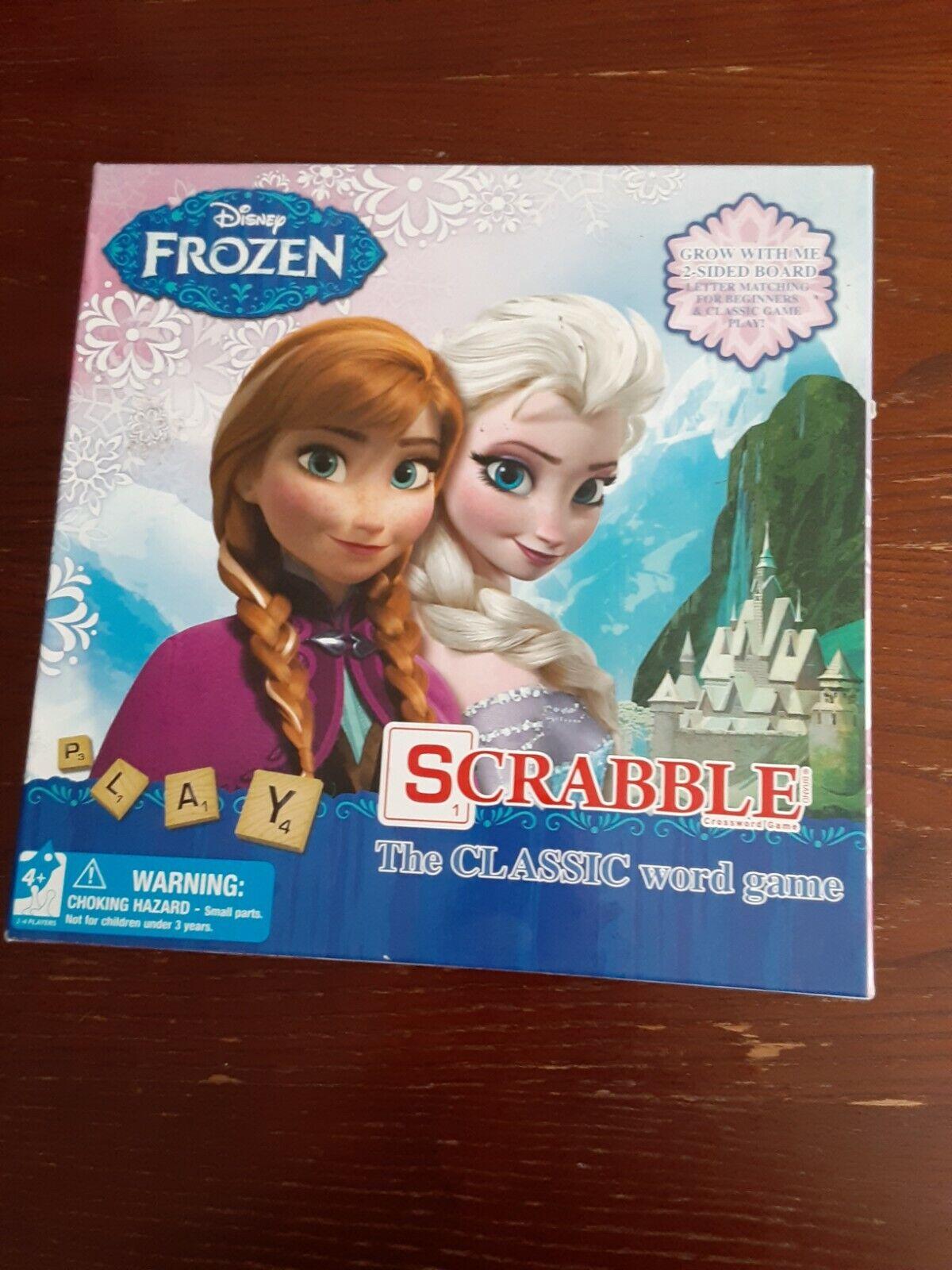 Frozen Hair Game : frozen, Disney, Frozen, Scrabble, Sided, Board, Kristoff, Online