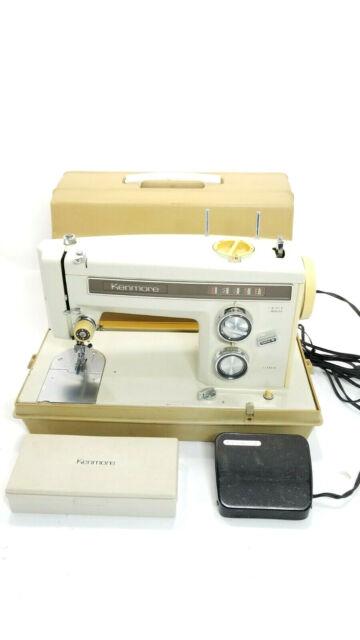 Vintage Sears Kenmore Sewing Machine : vintage, sears, kenmore, sewing, machine, Kenmore, 13510, Vintage, Heavy, Electric, Sewing, Machine, Pedal, Online