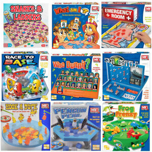 Traditional Classic Modern Full Size Family Childrens Kids Board Games Boardgame Ebay