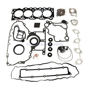 V3307 V3307T Engine Gasket Kit For Kubota M6040 M6060