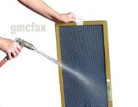 17x22x1 GOLD Electrostatic Furnace Air Filter - Washable ...