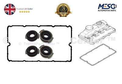 ROCKER COVER GASKET & 4 INJECTOR SEALS FITS FORD MONDEO