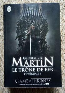 Le Trone De Fer L'intégrale 1 : trone, l'intégrale, Trône, Intégrale, Première, édition