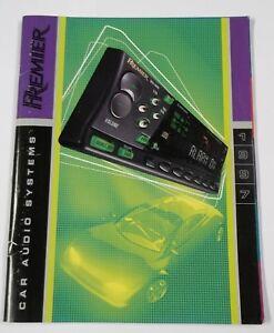 Pioneer Premier Car Stereo : pioneer, premier, stereo, Pioneer, Premier, Audio, Equipment, Color, Dealer, Brochure, Specs