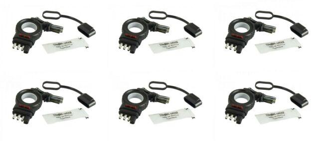 Hopkins MFG 48138 Trailer Wiring Connector 4 Flat 6 PACK