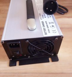 dpi 48 volt 17amp golf cart battery charger anderson sb 50 connector ebay [ 1152 x 1536 Pixel ]