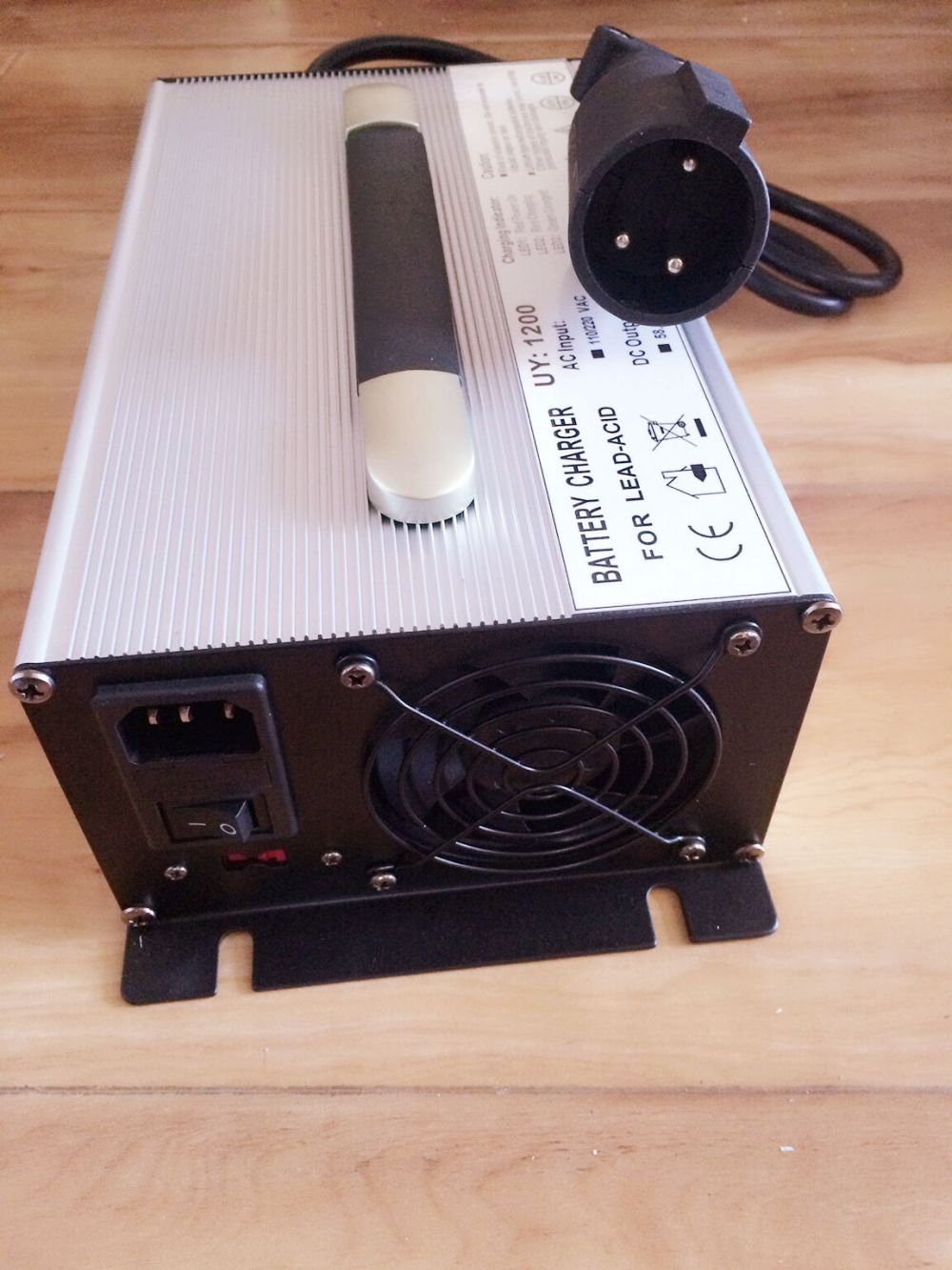 medium resolution of dpi 48 volt 17amp golf cart battery charger anderson sb 50 connector ebay