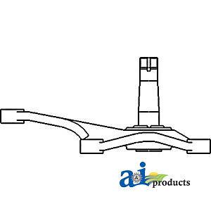 John Deere Parts BELLCRANK AL55148 940,840,2155, 2150 (LOW