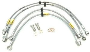 GoodRidge Stainless Steel Braided Brake Lines For