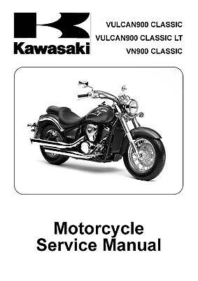 Kawasaki service manual 2006 VULCAN 900 CLASSIC & VULCAN