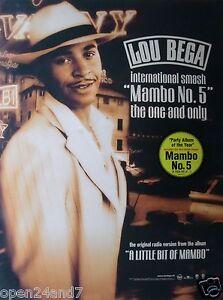 Lou Bega Mambo 5 : mambo,