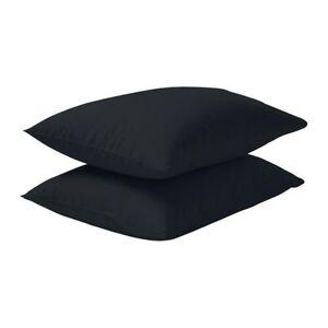 details about ikea dvala pack of 2 cotton pillow cases 50cm x 80cm various colours new