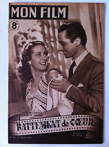 Les Battements De Mon Coeur Film : battements, coeur, N°49, 2/07/1947,