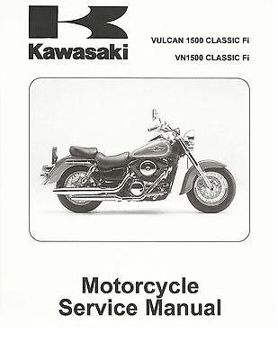 Kawasaki service manual 2007 & 2008 Vulcan VN1500 Classic