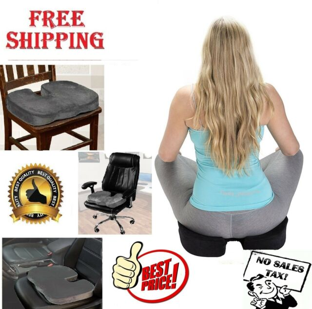 office chair cushion covers without sashes ergonomic orthopedic coccyx seat for back pain relief memory foam car pillow