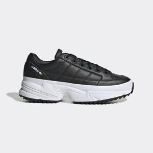 New Adidas Original Womens KIELLOR BLACK / WHITE EF5621 US W5-8 TAKSE | eBay