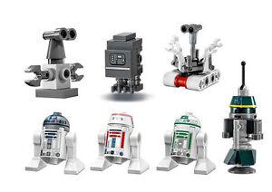 LEGO 75059 Star Wars Sand Crawler Droid Minifigures R1, R2