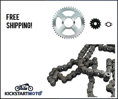 Chain and Sprocket Kit for Honda CT110 CT 110 Postie Bike