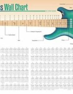 Image is loading string bass guitar wall chart learn to also play arpeggiated octaves rh ebay