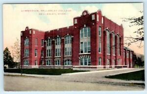 WELLESLEY. Massachusetts MA ~ Gymnasium WELLESLEY COLLEGE c1910s Postcard   eBay