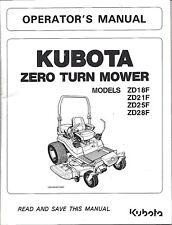 STEINER ZTM325 ZERO TURN MOWER OPERATOR'S MANUAL 09-401