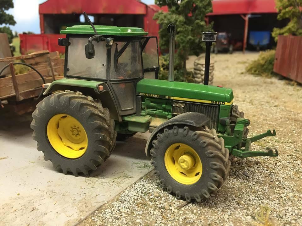 a3 john deere 3650 tractor poster brochure britains farm model 1 32 diorama