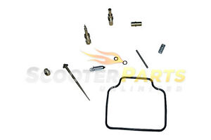 Carburetor Rebuild Repair Kit For 150cc Scooter Moped