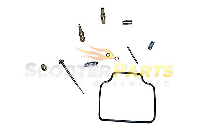 Carburetor Rebuild Kit For 150cc Scooter Moped SYM ALLO