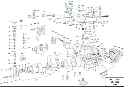 CAV Gasket DPA Diesel Fuel Injection Pump Roto Lucas Seal