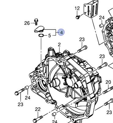 NEW Genuine Suzuki SWIFT Gearbox Speed Sensor Blank Plug