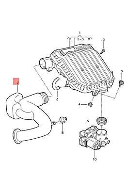 Genuine VW SEAT Ameo Polo Derby Vento-IND Air Guide