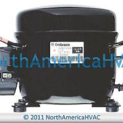 Embraco Ffi12hbx Wiring Diagram Ecobee3 Ffi12hbx1 Refrigeration Compressor 1 3 Hp R 134a Image Is Loading