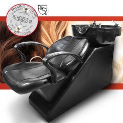 Shampoo Sink And Chair Blue Ridge Works Beauty Salon Equipment Station Unit Backwash Spa Bowl Barber