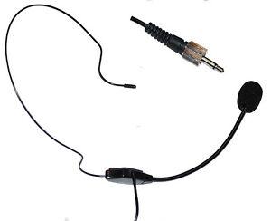 Dual Ear Head Headset Mic Headworn Microphone for