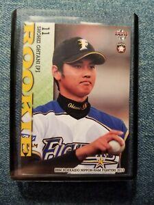 Shohei Ohtani Rookie Card RC 2013 BBM #F83 Japanese ...