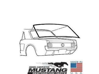1965 1966 1967 1968 Mustang Coupe Rear Window Weatherstrip