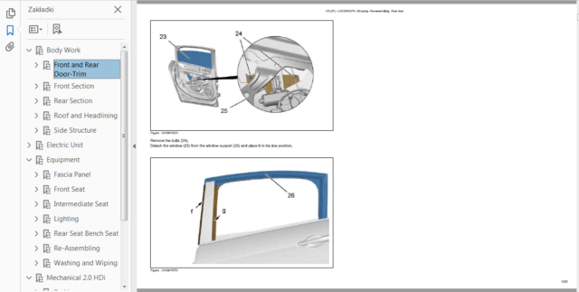 Official Workshop Manual Service Repair CITROEN C5 III