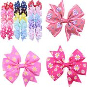 20pcs handmade bow hair clip alligator