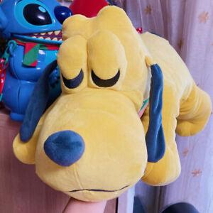 details about disney store pluto cuddleez 25 large stuffed plush sleeping pillow