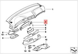 BMW E39 525i 528i 530i 540i NEW OEM Instrument Cluster